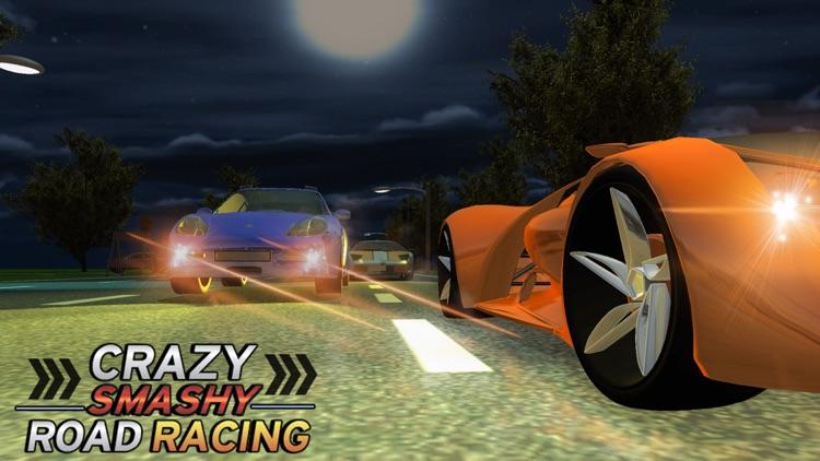 Crazy Smashy Road Racing: Cars Battle