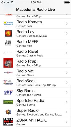 Macedonia Radio Live Player (Macedonian / Македонија