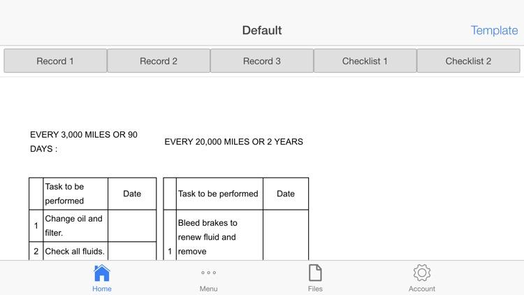Car Maintenance Planner screenshot-4