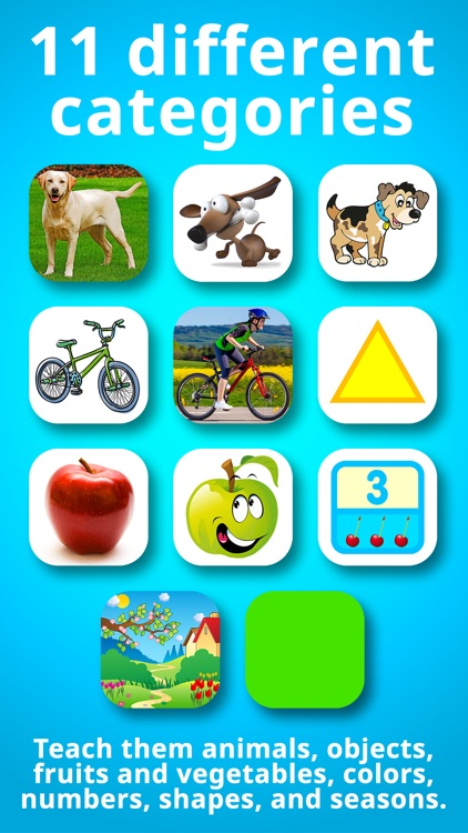 Animals for Babies & Toddlers Free Flashcards screenshot-4