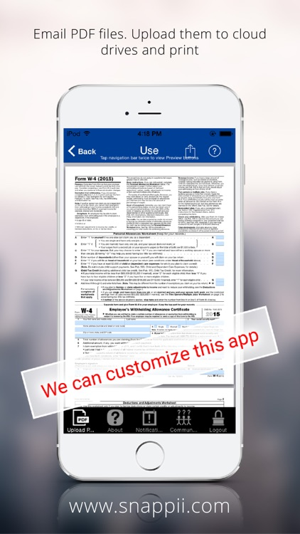 Government PDF Form Collection App screenshot-4