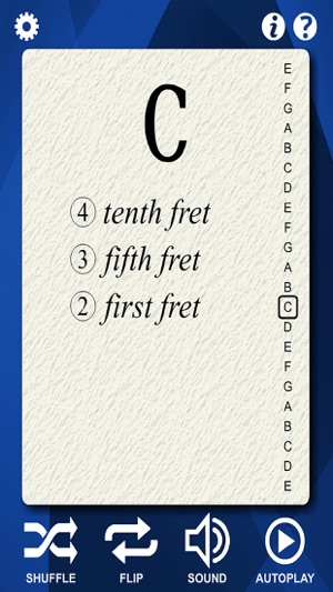 Guitar Notes Flash Cards On The App Store