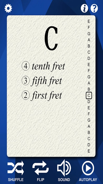 Guitar Notes Flash Cards screenshot four