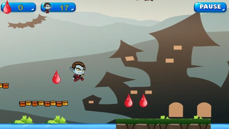 Hunter Jump: Adventure Halloween of Tiny Dracula screenshot-3