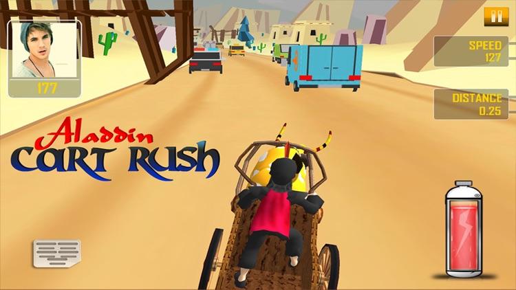 Aladdin Cart Rush 3D - Fun Racing Game for Kids screenshot-4