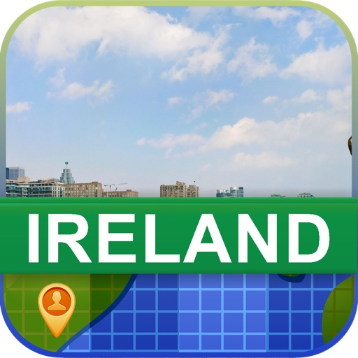 Offline Ireland Map - World Offline Maps