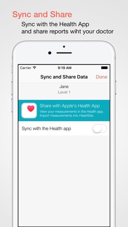 HeartStar BP Monitor screenshot-4