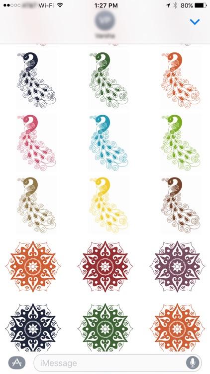 Diwali Stickers for iMessage screenshot-3