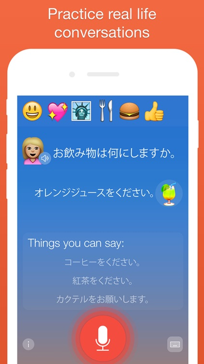 Mondly: Learn Japanese FREE - Conversation Course