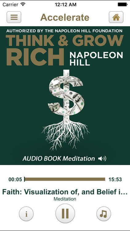 Think and Grow Rich by Napoleon Hill: Audiobook Meditation & Spiritual Program