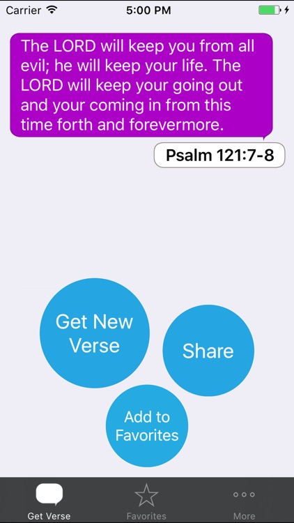 Inspirational Bible Verses screenshot-0