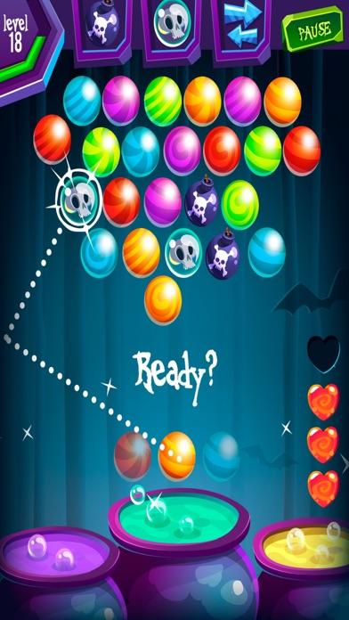 Halloween Shooter Ball - Ghost Bubble Sweety Screenshot