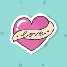 Heart Stickers - Decorate Text & iMessage