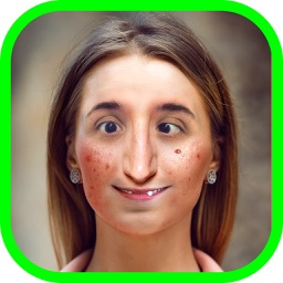 Ugly Face Photo Editor – Funny Face Changer with Crazy Camera Stickers in the Best Pic Booth Free