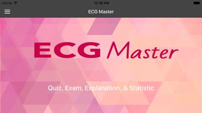 ECG Master - Quiz, Exam, Explanation, Statistic screenshot one