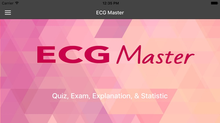 ECG Master - Quiz, Exam, Explanation, Statistic
