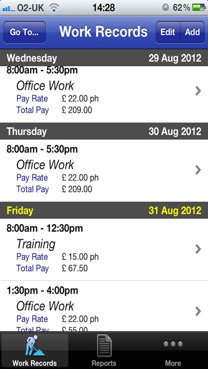 Pay Diary screenshot-0