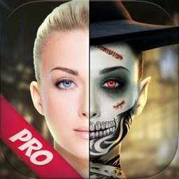 Halloween Makeup Photo Camera Pro