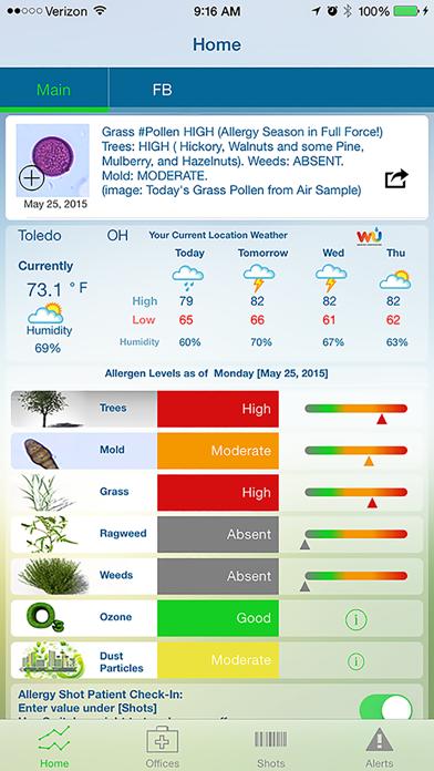 Allergy Pollen Countのおすすめ画像1