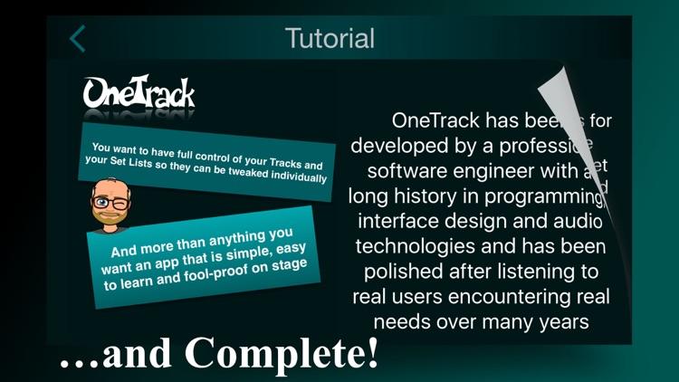 OneTrack - Backing Tracks for Pros screenshot-3