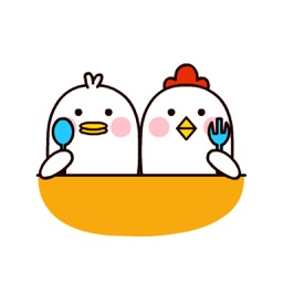 Couple Chicks - Animated Stickers And Emoticons