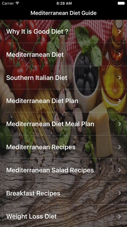 Mediterranean Diet: A Heart Healthy Weight Loss screenshot-1
