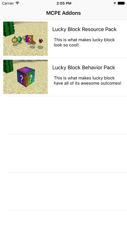 Lucky Block Addon for Minecraft PE by Lime Works, LLC