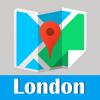 倫敦旅游指南地鐵火車全球定位零流量英國地圖  London metro tube map guide