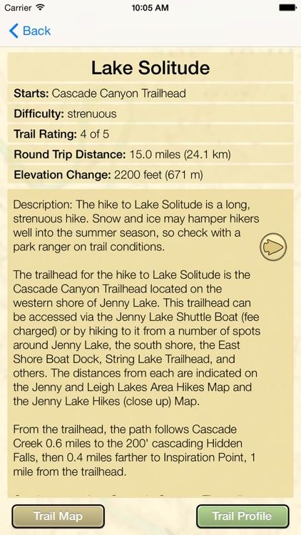 Hiking Grand Teton National Park screenshot-4