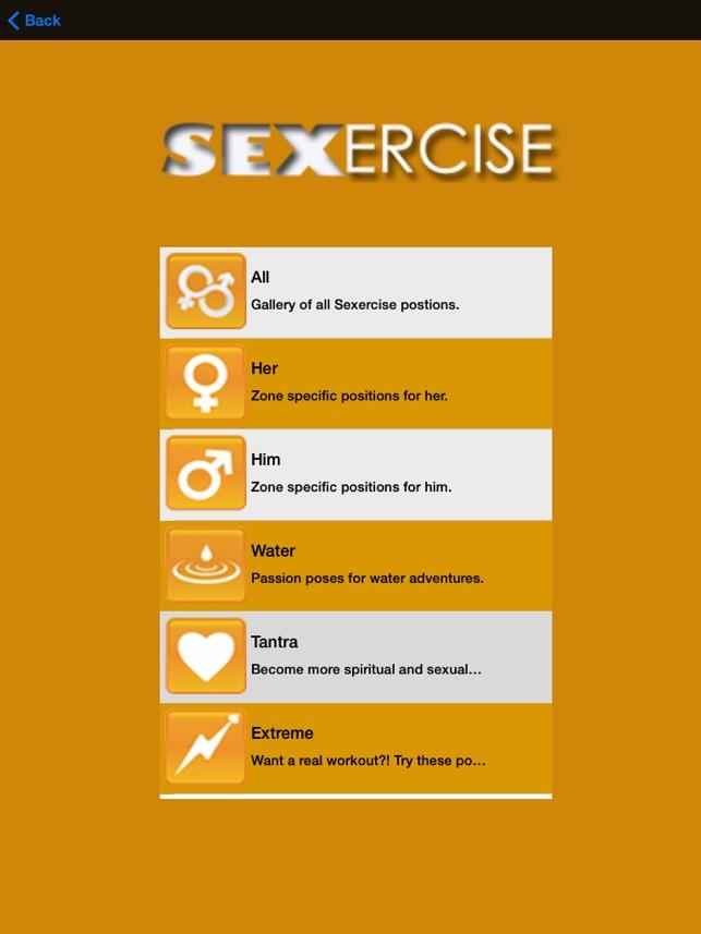 sex app calories