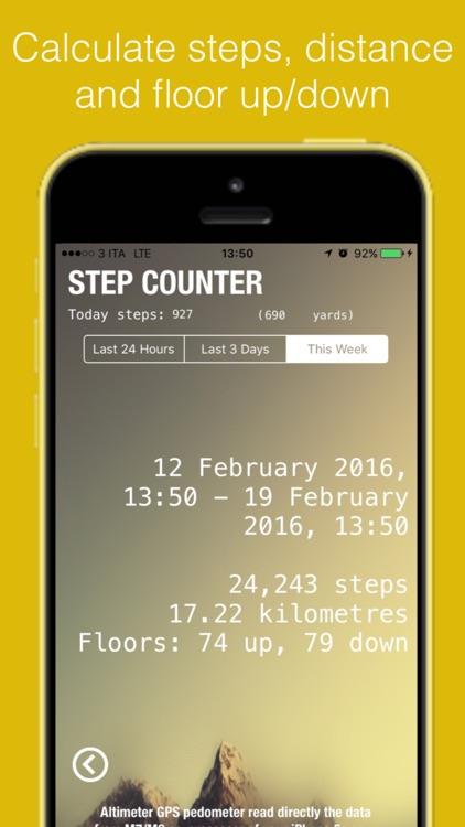 Altimeter GPS -  with speedometer, barometer, maps screenshot-4