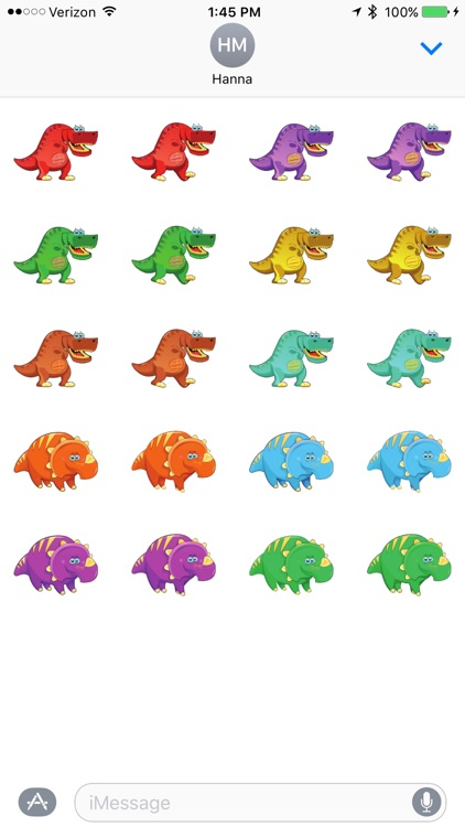 Kid Dino - Sticker Pack