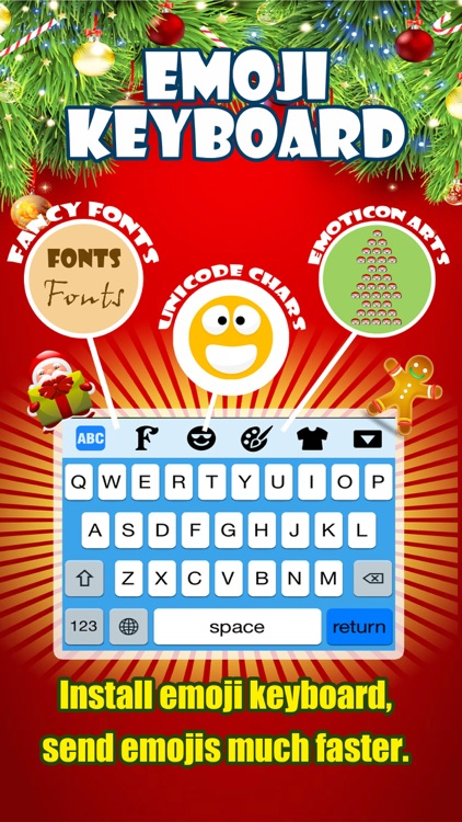 Emoji Keyboard -Gif Color Text Font for Messenger screenshot-0