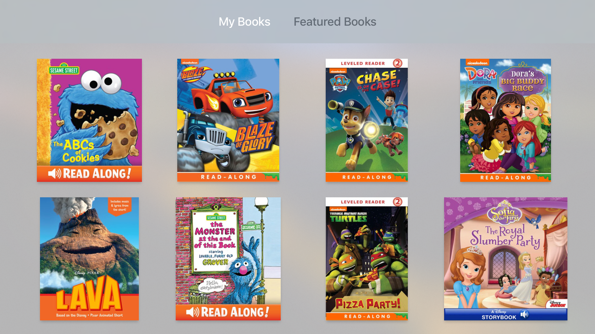 iBooks StoryTime screenshot 1