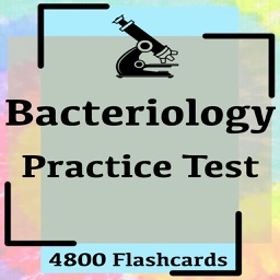 Bacteriology Practice Test 4800 Exam Notes & Quiz