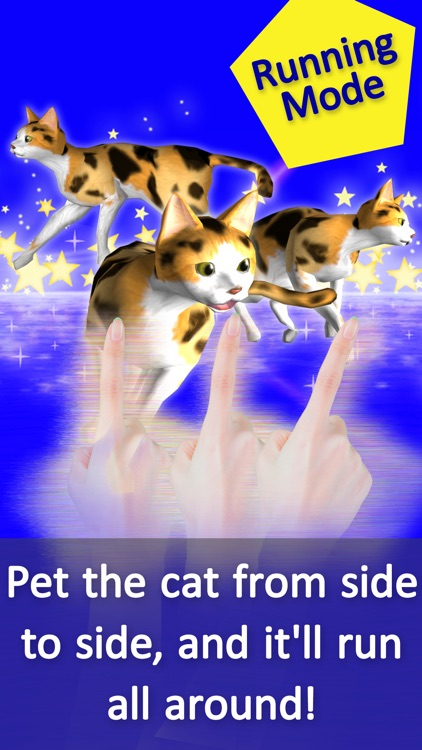 3-Color Petting Cat! More! To love the cat! screenshot-3