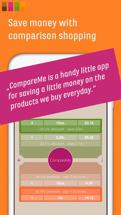 CompareMe - Price Comparison Shopping Calculator screenshot-0