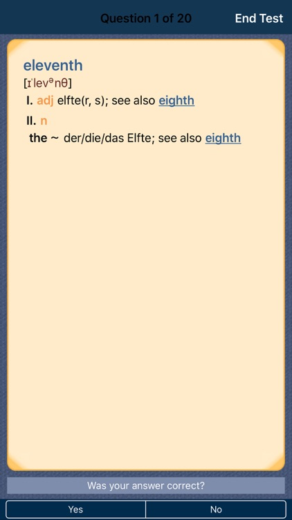 German <-> English CONCISE Dictionary screenshot-3