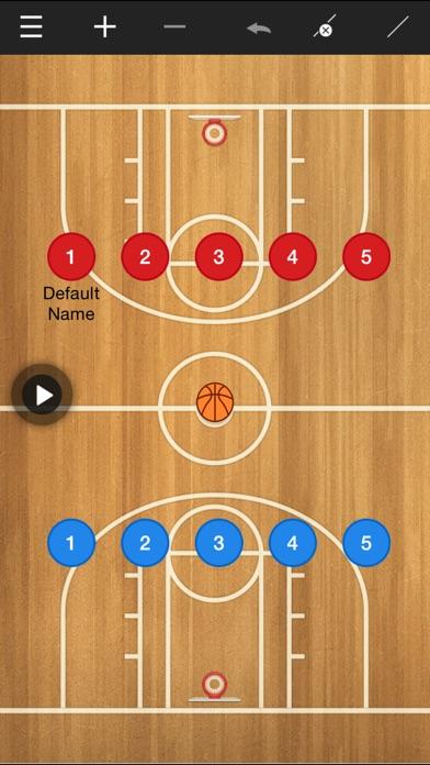 Basketball coach's clipboard Screenshot 1