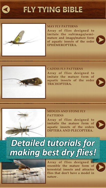 Fly Tying Bible - Dry Flies Pro Manual Fishing Equipment Usage Instructions & Procedures screenshot-1
