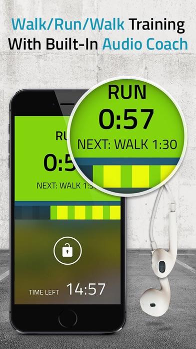5K Runner: 0 to 5K Run Trainer. Couch potato to 5K app image