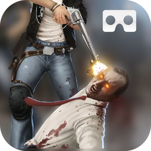 VR FPS Zombie Frontire : shooting game icon