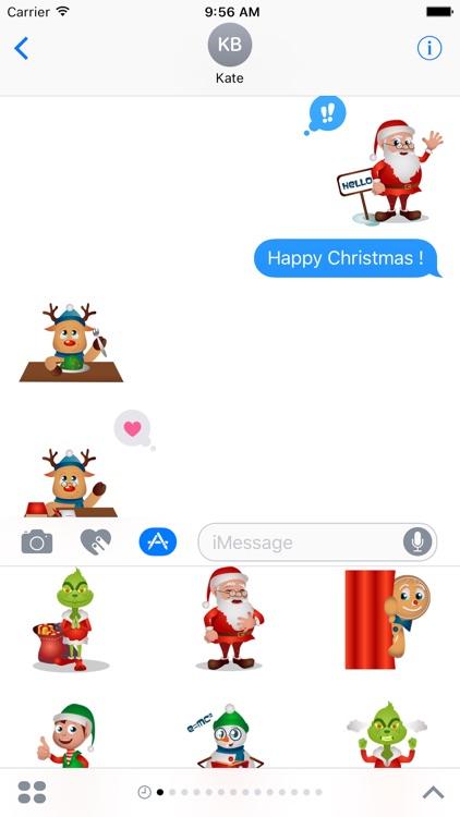 Very Merry Christmas Sticker