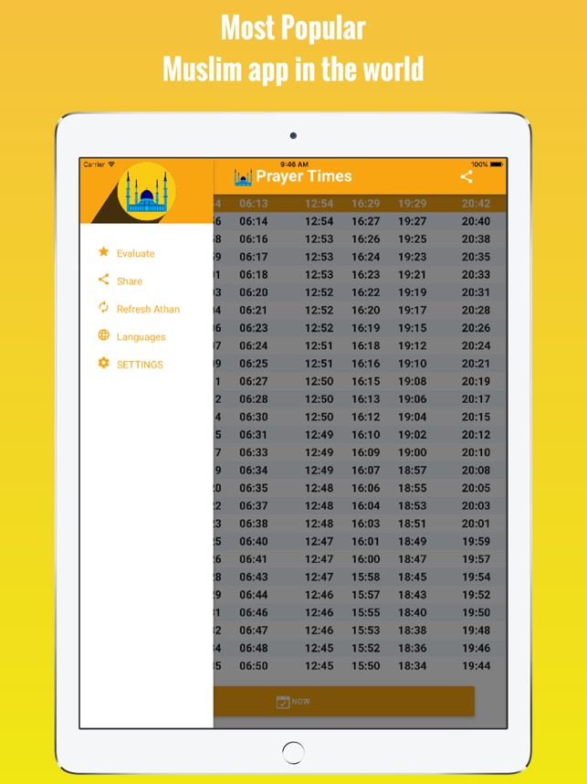 Kuwait Prayer Times - اوقات الصلاة في الكويت on the App Store