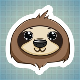 Sticker Me: Sloth Character