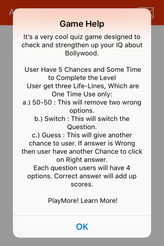 Bollywood Quiz Trivia screenshot 1