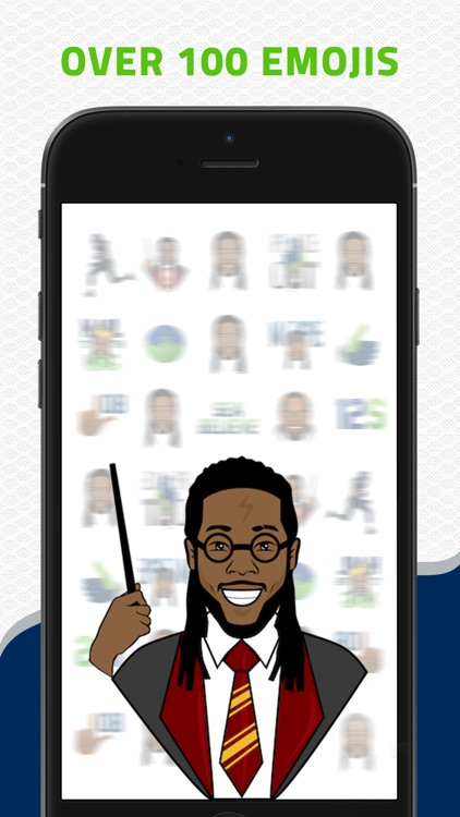 SHERMOJI - Official Richard Sherman Emoji Keyboard screenshot-1