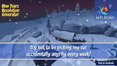 New Years Resolutions screenshot three