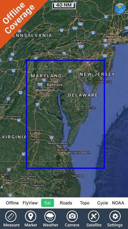 Chesapeake Bay Nautical Charts screenshot-4