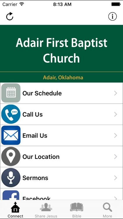 Adair First Baptist Church